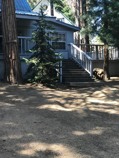 Shaver Lake Single Family Home For Sale: 41937 Foxtail Lane