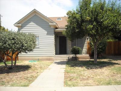 Selma Single Family Home For Sale: 1748 Sylvia St