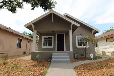 Fresno CA Single Family Home Sold: $129,900
