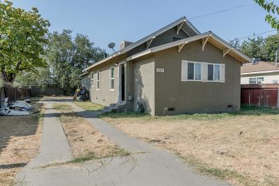Hanford Single Family Home For Sale: 227 Braden Avenue