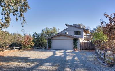 Coarsegold CA Single Family Home For Sale: $345,000