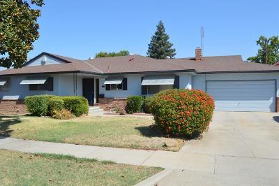 Fresno CA Single Family Home For Sale: $228,500