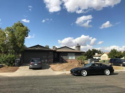 Madera Single Family Home For Sale: 1509 Sherwood Way