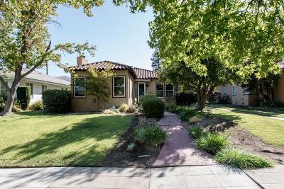 Fresno Single Family Home For Sale: 1584 N Arthur Avenue