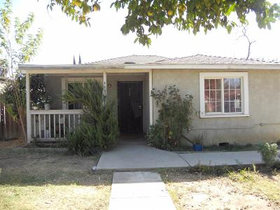 Madera Single Family Home For Sale: 823 Columbia Street