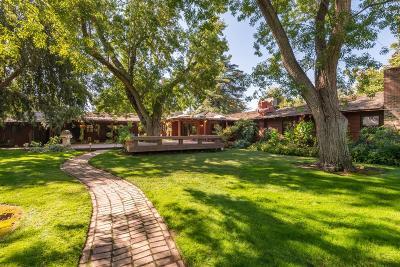 Single Family Home For Sale: 5505 E Butler Avenue