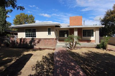 Fresno CA Single Family Home Sold: $184,900