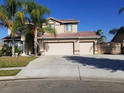 Kerman Single Family Home For Sale: 16108 W Brian Avenue