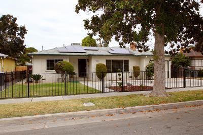 Fresno CA Single Family Home For Sale: $185,000