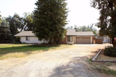 Clovis Single Family Home For Sale: 7181 Tollhouse Road