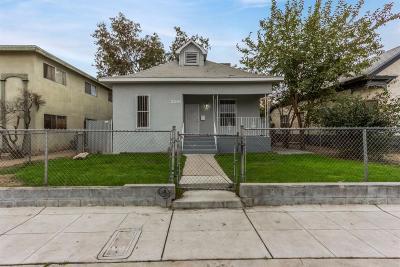 Fresno Single Family Home For Sale: 2210 E Webster Avenue