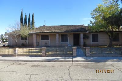 Reedley CA Single Family Home For Sale: $199,000