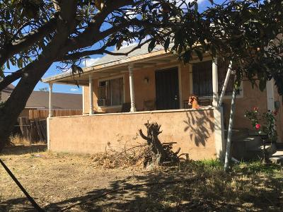 Selma CA Single Family Home For Sale: $110,000