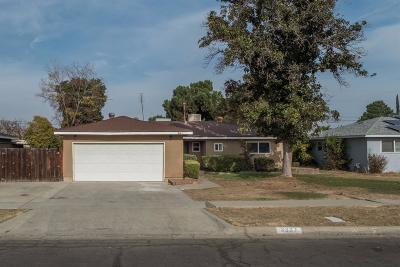Fresno Single Family Home For Sale: 3867 E Santa Ana Avenue