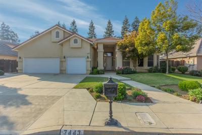 Fresno Single Family Home For Sale: 7443 N Lodi Avenue