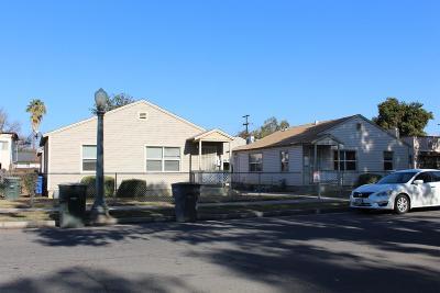 Fresno Multi Family Home For Sale: 117 E Kearney Boulevard