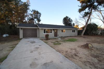 Madera Single Family Home For Sale: 25601 Tremaine Avenue