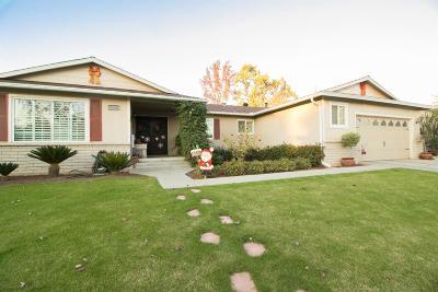 Fresno Single Family Home For Sale: 1666 W Los Altos Avenue