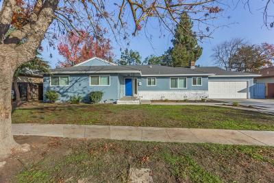 Fresno Single Family Home For Sale: 6356 N Spalding Avenue