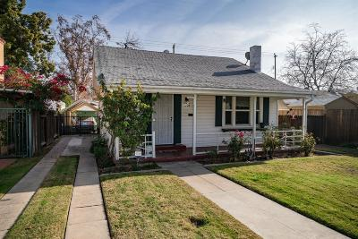 Fresno Single Family Home For Sale: 1228 N Vagedes Avenue