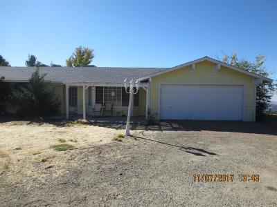Squaw Valley CA Single Family Home For Sale: $215,000