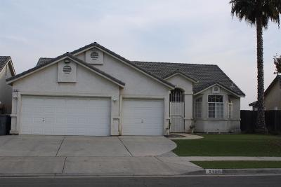 Fresno CA Single Family Home For Sale: $280,000