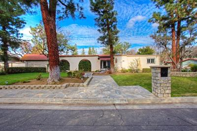 Fresno Single Family Home For Sale: 2720 W San Carlos Avenue