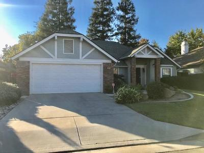 Fresno CA Single Family Home For Sale: $283,500