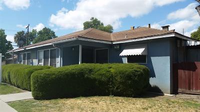 Clovis, Fresno, Sanger Multi Family Home For Sale: 1835 N Fresno Street