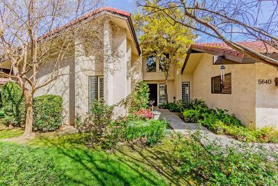 Fresno Condo/Townhouse For Sale: 5640 N El Adobe Drive