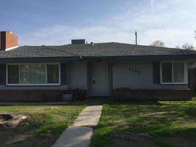 Fresno Single Family Home For Sale: 2142 N Lomita Avenue