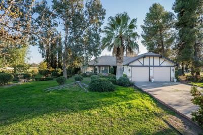 Madera CA Single Family Home For Sale: $285,000