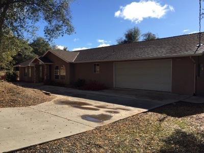 Coarsegold CA Single Family Home For Sale: $278,900
