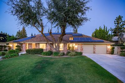 Fresno Single Family Home For Sale: 3848 W Alluvial Avenue