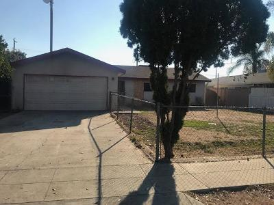 Fresno CA Single Family Home For Sale: $136,500