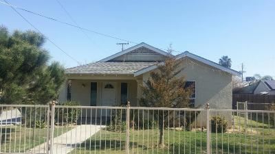 Fresno CA Single Family Home For Sale: $205,500