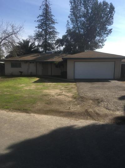 Fresno CA Single Family Home For Sale: $159,900