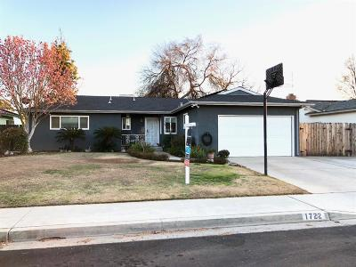 Clovis Single Family Home For Sale: 1722 Dennis Avenue