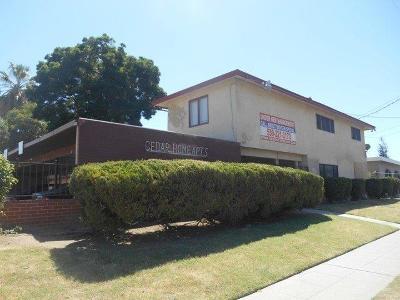 Fresno Multi Family Home For Sale: 1484 N Cedar Avenue