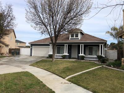 Hanford Single Family Home For Sale: 1031 N Hartnell Place