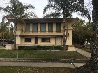 Clovis, Fresno, Sanger Multi Family Home For Sale: 743 S 4th Street