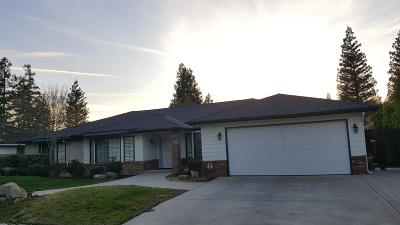 Fresno Single Family Home For Sale: 7687 N Mansionette Drive