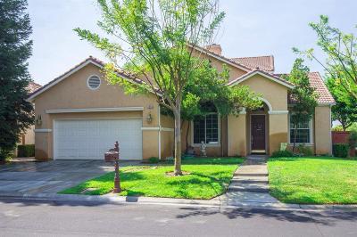 Clovis Single Family Home For Sale: 4895 N Windward Way