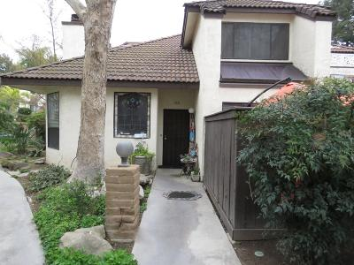 Fresno CA Condo/Townhouse For Sale: $290,000
