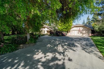 Selma CA Single Family Home For Sale: $715,000