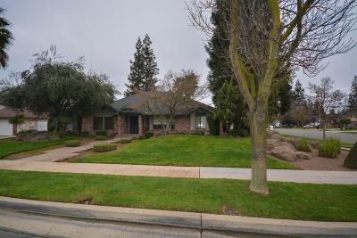 Fresno Single Family Home For Sale: 1551 W Alluvial Avenue
