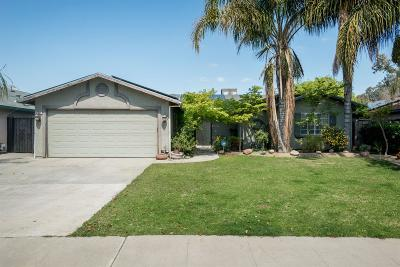 Selma CA Single Family Home For Sale: $215,000