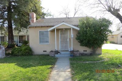 Dinuba Single Family Home For Sale: 300 N Bates Avenue