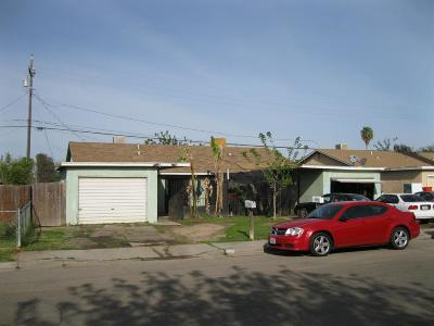 Clovis, Fresno, Sanger Multi Family Home For Sale: 927 N Bengston Avenue