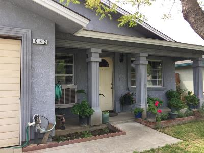 Dinuba Single Family Home For Sale: 623 E La Vista Avenue